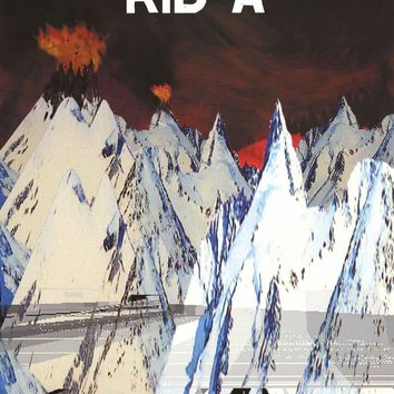 Radiohead Kid A Poster 25x35