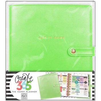 Me and My Big Ideas Create 365 Collection Planner Deluxe Cover Classic Spring Green