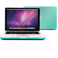 GMYLE (TM) Turquoise Robin Egg Blue Turquoise Frosted Rubberized-see-through Hard Case Skin Cover fo
