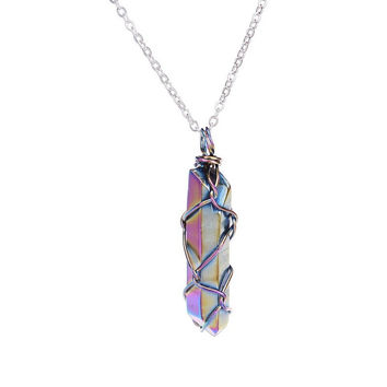 Caged Aura Necklace