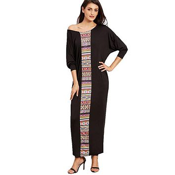 Women's Boho Maxi Chic Dress