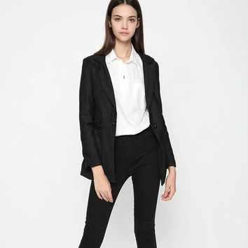 DCCK0OQ Autumn Star Blazer Slim Suits Women's Fashion Jacket [8790862983]