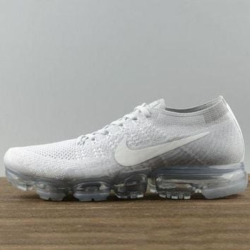 Nike Trending Women Fashion Edgy Limited Edition Air Cushion Sneakers Sport Shoes Light blue G-1