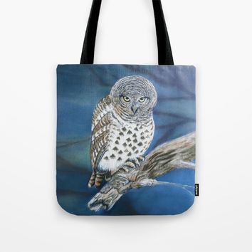 Owl Tote Bag by Azure Avenue