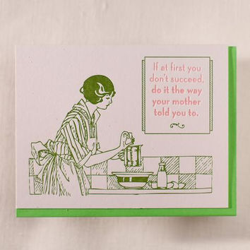 Do it Mom's Way Card