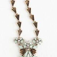 Vintage Inspired, Luxe, Statement, French Factor in Fanciness Necklace by ModCloth