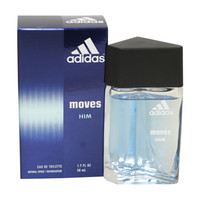 Adidas Moves Cologne - Eau De Toilette Spray 1.7 Oz / 50 Ml for men