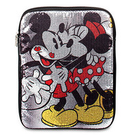 Disney Sequined Minnie Mouse and Mickey Mouse Tablet Case | Disney Store