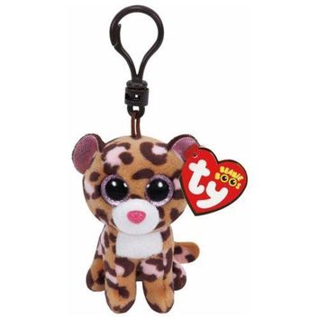 Patches The Lepard Ty Beanie Boos Clips Keychain