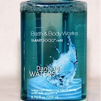 Bath & Body Works - Dancing WATERS - Ultra-Rich Foaming Hand Soap -Touch Free SmartSoap Automatic Hand Soap Dispenser Refill - (Dispenser sold separately)