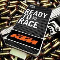 KTM Ready To Race Motorcycle Logo for iPhone 4/4s/5/5s/5c/6/6 Plus Case, Samsung Galaxy S3/S4/S5/Note 3/4 Case, iPod 4/5 Case, HtC One M7 M8 and Nexus Case ***