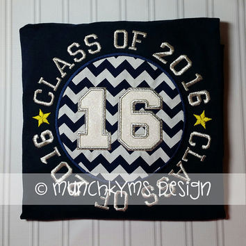 Class of 2016 Applique
