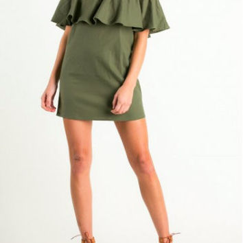 Free to Be Dress | Olive