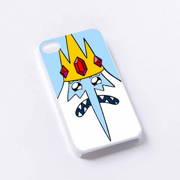 Adventure Time Ice King iPhone 4/4S, 5/5S, 5C,6,6plus,and Samsung s3,s4,s5,s6
