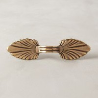 Fanned Brass Handle by Anthropologie