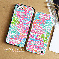 Lilly Pulitzer-Let's Cha Cha iPhone Case Cover for iPhone 6 6 Plus 5s 5 5c 4s 4 Case