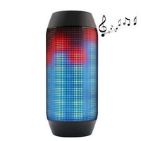 Mini Wireless Bluetooth Pulse Speaker Support NFC 360 LED lights U-disck and TF card portable Speaker
