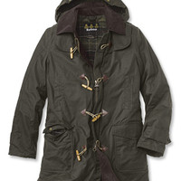 Waxed-Cotton Duffle Coat / Barbour® Kinneff Duffle Coat -- Orvis