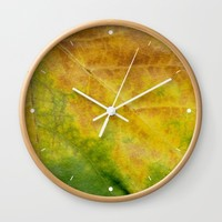 Nature colour Wall Clock by Josep Mestres