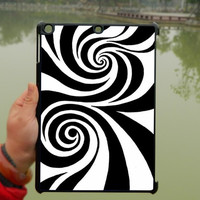 Psychedelic patterns black and white iPad Case,iPad mini Case,iPad Air Case,iPad 3 Case,iPad 4 Case,ipad case,ipad cover, ipad mini cover ipad air,iPad 2/3/4-150