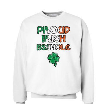 St. Patrick's Day Unisex Sweatshirt - Choose From Many Fun Designs!