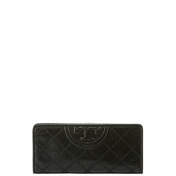 Tory Burch Fleming Distressed Slim Envelope Wallet