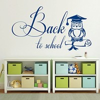 Wall Decals Quotes Vinyl Sticker Decal Quote Back to school Nursery Baby Room Kids Boys Girls Home Decor Bedroom Art Design Interior NS693