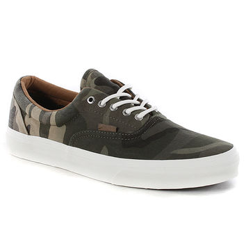 Vans Era Ca Shoes - (ombre Dyed Camo) Olive Night at Urban Industry