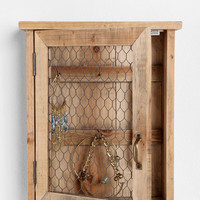 Urban Outfitters - Reclaimed Wood Wall Jewelry Holder