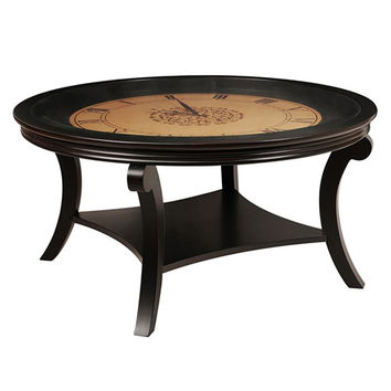 Magnussen Home T2920-45 Mystique Soft Black Cocktail Table
