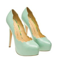 [ sold out ]Browns fashion & designer clothes & clothing | CHARLOTTE OLYMPIA | Margo Leather Pumps with Platform