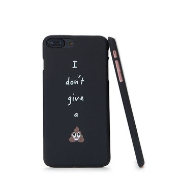 Slogan Print iPhone Case