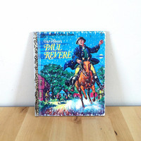 Walt Disney's Paul Revere {1975} Vintage Book