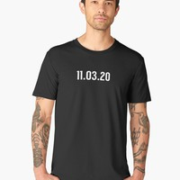 'Save the Date - Election Day 2020' Men's Premium T-Shirt by SunBadgerMalibu