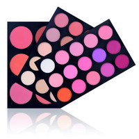 Triple Layer Blush Professional Makeup Beauty Cosmetic Mania Color Palette Kit