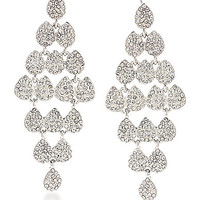 Carolee Earrings Holiday Cocktails Dramatic Open Work