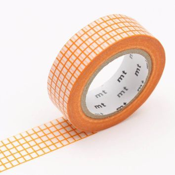 mt Washi Tape Single Mandarin Graph Hougan - Omoi Zakka Shop