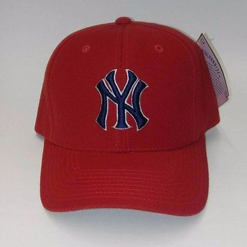 DCK4S2 New York Yankees Red MLB Adjustable Hat