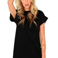 The Rileigh Tee Shirt Dress (Additional Colors)