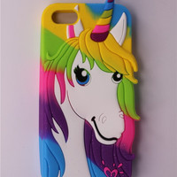 Colorful Unicorn Phone Case