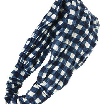 Tasha Gingham Head Wrap