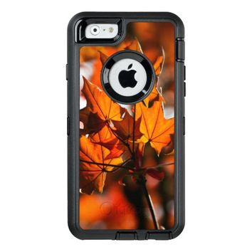 autumn leaves OtterBox iPhone 6/6s case