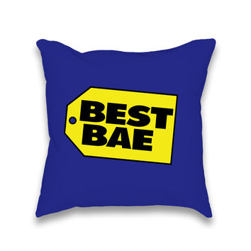 Best Bae Throw Pillow