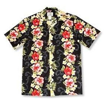 blackmist hawaiian cotton shirt