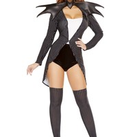 4pc Pumpkin Queen Jackie Costume