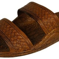 Brown Hawaiian Jesus Sandal (5, brown)