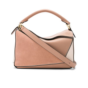 Loewe Puzzle Small Bag in Blush Multitone | FWRD