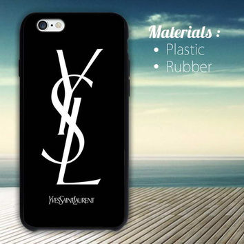 Yves Saint Laurent YSL iPhone 4/4S, 5/5S, 5C, 6 Series Hard Plastic Case
