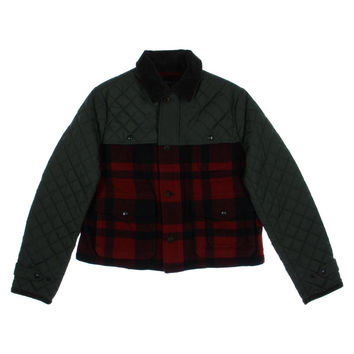 Polo Ralph Lauren Womens Wool Plaid Jacket