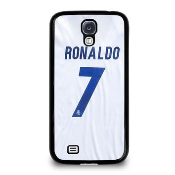 RONALDO CR7 JERSEY REAL MADRID Samsung Galaxy S4 Case Cover